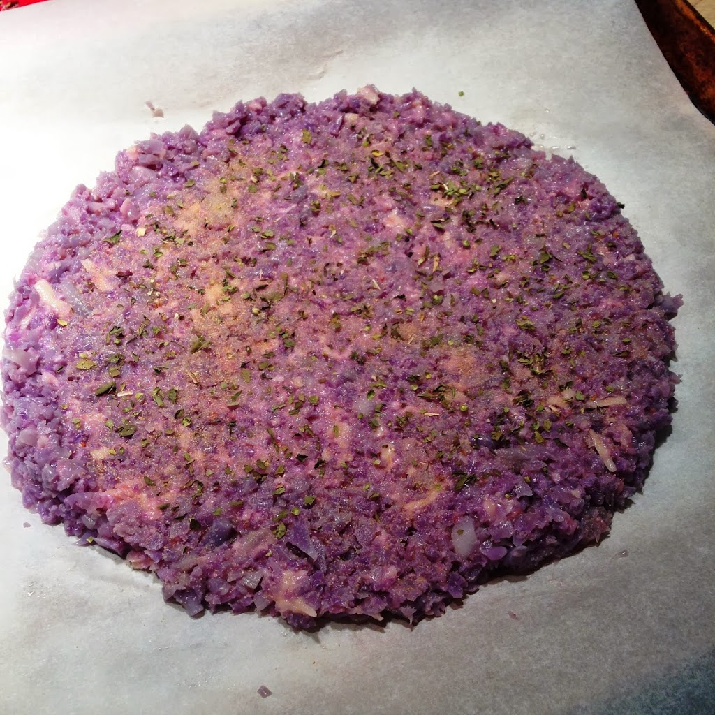 The Purple Pizza Eater Recipe — Dishmaps