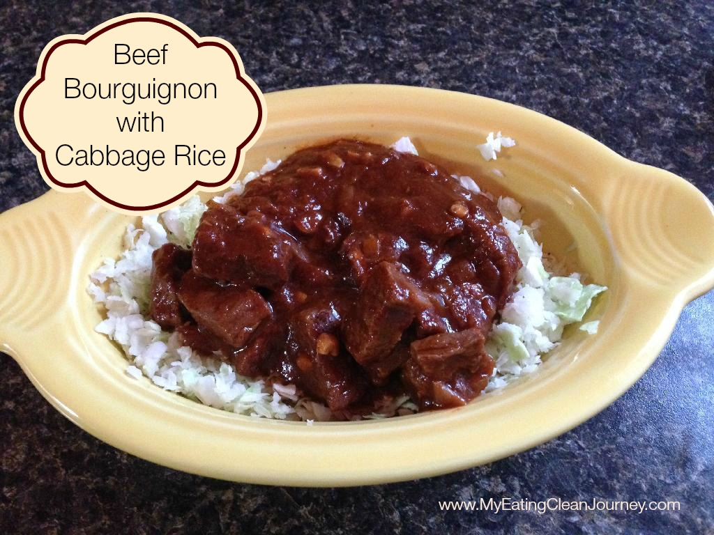 Beef Bourguignon with words