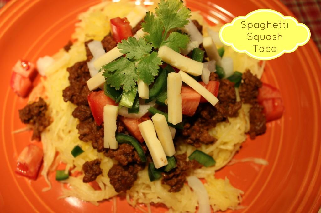 Spaghetti Squash Taco